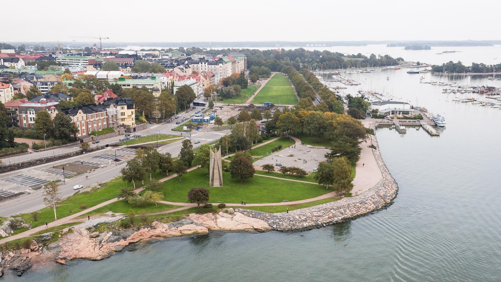 aerial-photography-kaivopuisto-helsinki